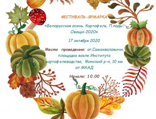 ФЕСТИВАЛЬ-ЯРМАРКА  «Белорусская осень. Картофель. Плоды. Овощи-2020»